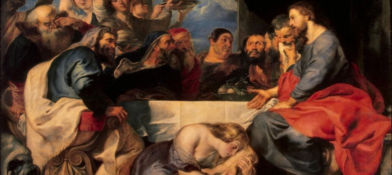 What Is True Grace? Jesus in the House of Simon the Pharisee, by Peter Paul Rubens