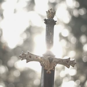 The sword of a warrior