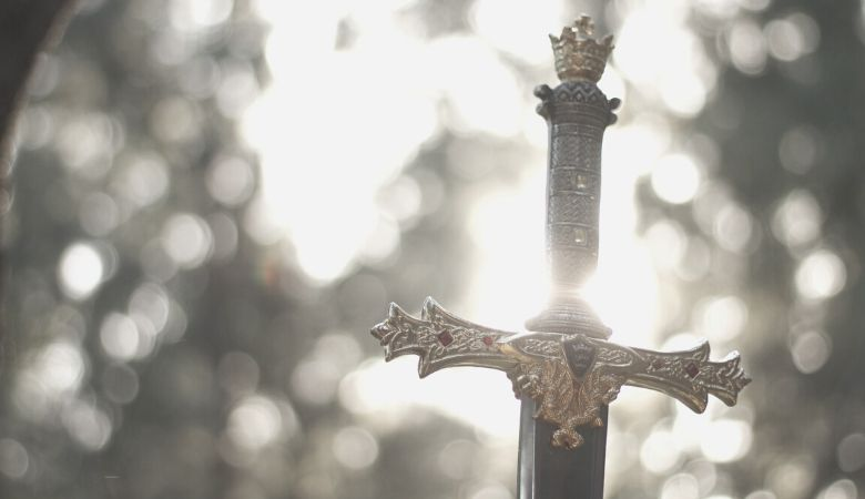 A sword, part of the armor of God